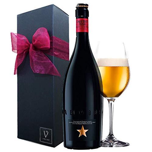 誕生日プレゼント【スペインビール:イネディット】ギフトセット(イネディット1本リボン包装)