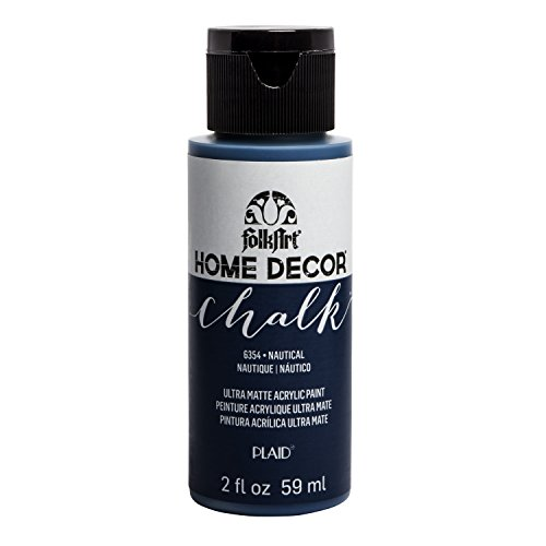 FolkArt Home Décor Chalk Furniture & Craft Paint in Assorted Colors, 2oz, Nautical