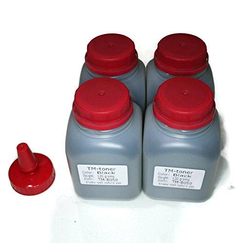 4 Bottles Compatible Toner Refill kit for Brother HL-2230 HL-2240 HL-2270 HL-2280 MFC-7360 MFC-7460DN MFC-7860DW DCP-7060 DCP-7060D DCP-7065DN TN-450 TN450 TN-420 TN420 Cartridge