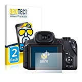BROTECT Protector Pantalla Anti-Reflejos Compatible con Canon PowerShot SX70 HS (2 Unidades) Película Mate Anti-Huellas