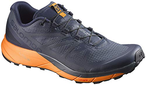 Salomon Sense Ride Men's Shoes Navy Blazer/Marigold