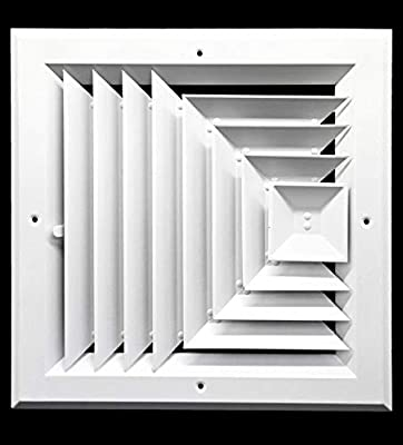 """12"""" X 12"""" Ceiling Register Vent Covers"""