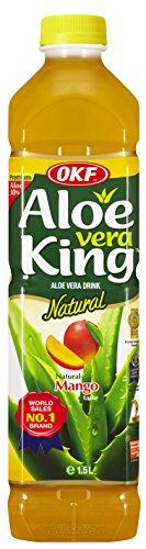 OFK - Aloe Vera King- Aloe Vera Drink - Sabor Mango - 1.5 Litros