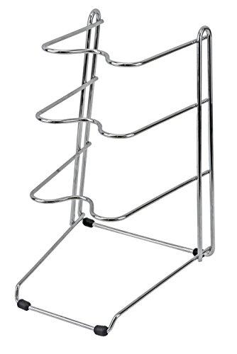 パール金属 キッチンストレージ フライパン ラック 3段 H-7341