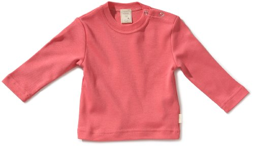 LANA natural wear Unisex - Baby Sweatshirt 900 3200 5013 T-Shirt, Gr. 74/80, Pink (peach)