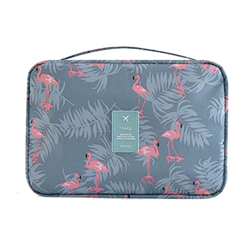 Hanging Toiletry Bag Cosmetic Travel Wash Bag Portable Makeup Pouch Hygiene Bathroom Organizer Kit for Women&Girls