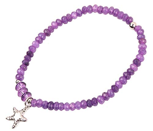 RUNXINTD Chakra Reiki Healing Anklet Gemstone Healing Chakra Anklet Bracelet with Starfish Yoga Reiki Healing Gift