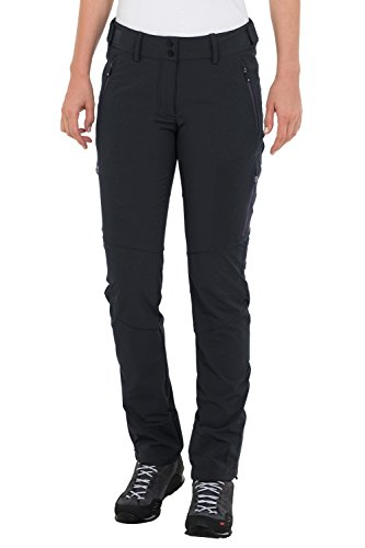 VAUDE Damen Hose Women's Ducan Pants, Black, 34, 049100100340