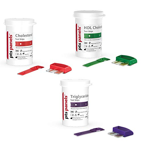 CardioChek Refill Cholesterol Kit (3 capillaries and 3 lancets per box of 3 ct. test strips)