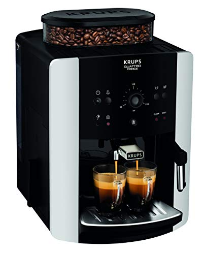 Krups Arabica Manual Coffee Machine, 1450 W, Silver