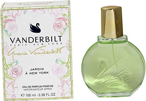 Gloria Vanderbilt Jardin A New York Fraiche - Espray para mujer (100 ml, incluye bolsa de regalo)