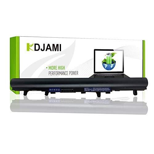 KDJAMI AL12A32 Laptop Akku für Acer Aspire E1-510 E1-510P E1-522 E1-530 E1-530G E1-532 E1-570 E1-570G E1-572 E1-572G (4 Zellen 2500mAh 14.4V Schwarz)