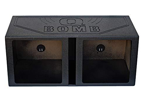 "Rockville Dual 15"" Vented Subwoofer Enclosure Kicker Solo Baric L7S L7R Sub Box"