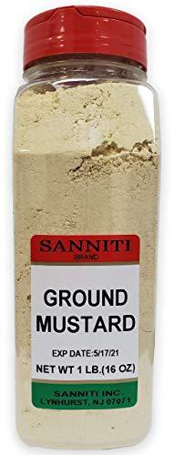 Sanniti Premium Ground Dry Mustard Seed Powder, 16 Oounce
