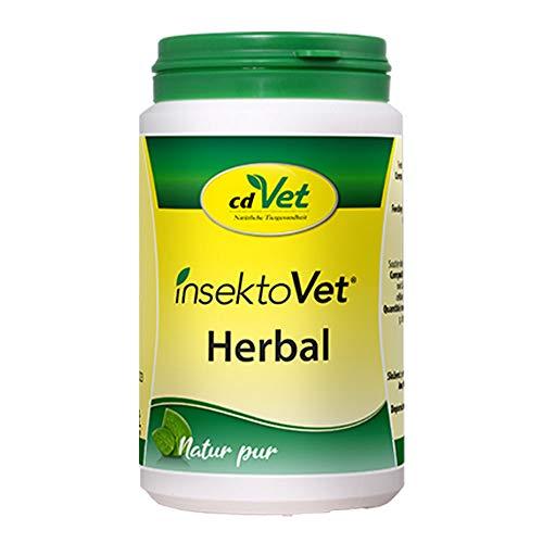 cdVet InsektoVet Herbal 100 g - natürliche Nahrungsergänzung für Hunde mit Vitaminen, Mineralstoffen und Spurenelementen zur Unterstützung des Hautstoffwechsels und Abwehrfunktion der Haut