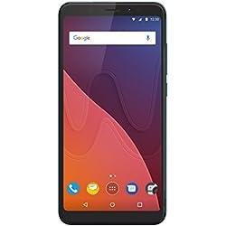 Wiko View - Smartphone 16GB, 3GB RAM, Dual Sim, Deep Bleen
