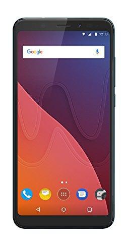 Wiko View 14,47 cm (5,7 Zoll) Smartphone (13MP Kamera, 32 GB internen Speicher, 3GB RAM, Dual-SIM, Fingerprint, Android 7.1 Nougat) Bleen