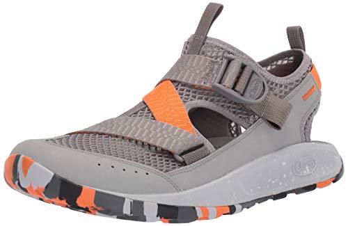 Chaco Men's Odyssey Sandal, Gray, 11 M US