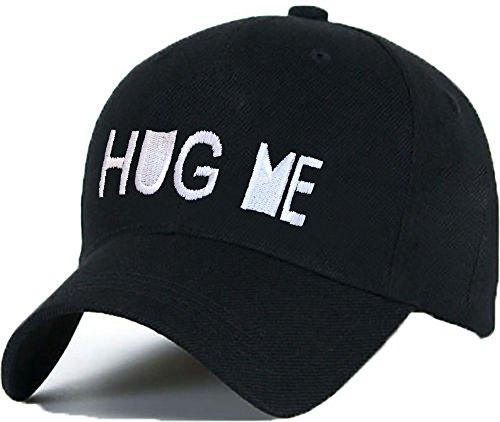Bonnet Casquette Snapback Baseball HUG ME 1994 Hip-Hop en Noir / Blanc avec les ASAP Bad Hair Day