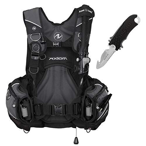 Abenteuertauchen Aqualung Axiom Tarierjacket Inklusive Jacketmesser Edelstahl 304, Größe:XL