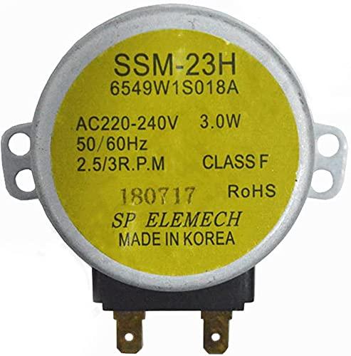 LODCC para el Motor de la Placa giratoria del Horno de microondas LG MP-9485SA MP9489SB MZ9480YRC Piezas de Repuesto para Horno microondas Sencillo