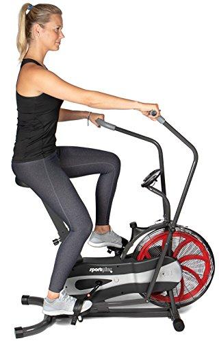 SportPlus Air Bike SP-FB-1000 im Einsatz