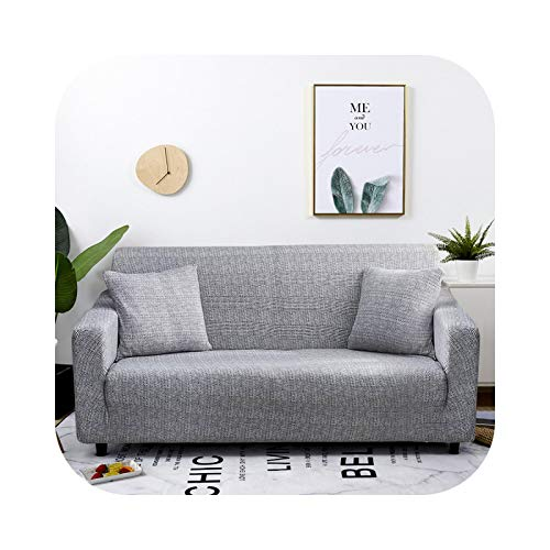 Onln 2021 Elastic Sofa Slipcover All-Inclusive Sofa Cover for Living Room Corner fundas Sofas con Chaise Longue Couch Cover Furniture Case-Color 18-3-seater 190-230cm