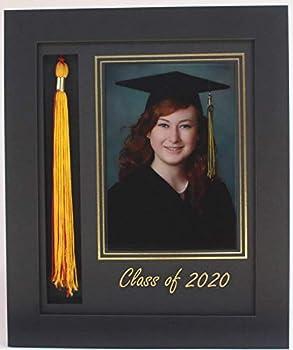 3art Graduation Tassel 5x7 Picture Frame Black 2020  Customizable
