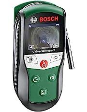 """Bosch Home and Garden Cámara de inspección UniversalInspect (4 pilas 1,5 V, gancho, espejo, imán, estuche, diámetro de la cámara - diámetro: 8 mm, largo del cable: 0,95 m, Display a color 2.32"""")"""