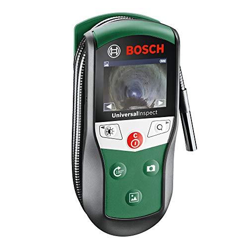 Bosch Inspektionskamera Universalinspec (Kamerakopf-Ø: 8mm, Kabellänge: 0,95 m, IP67, 2, 32 Zoll Farbdisplay, in Softtasche)