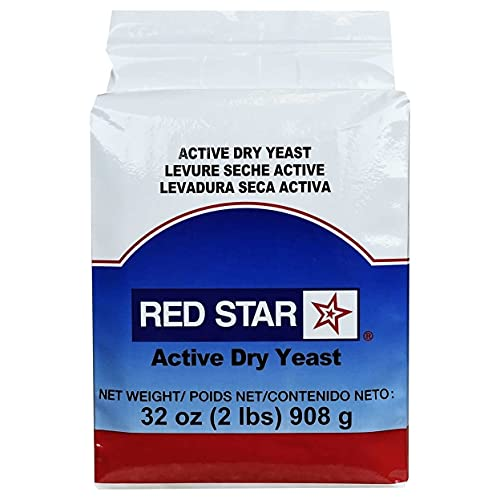 Red Star Active Dry Yeast, Value Size 1 Pack (2 Pound Ea)