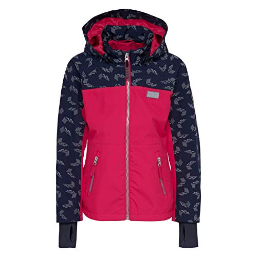 LEGO Wear Tec Sommer Josefine 203 - Funktionsjacke, Blouson Bébé Fille, Multicolore (Red 366), 86