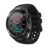 Q8 SmartWatch 2021 Orologio Android Bluetooth Call 1.3 'Smart Watch Uomini IPX7 Impermeabile 30 Giorni Loop Touch Screen (Colore: Nero)