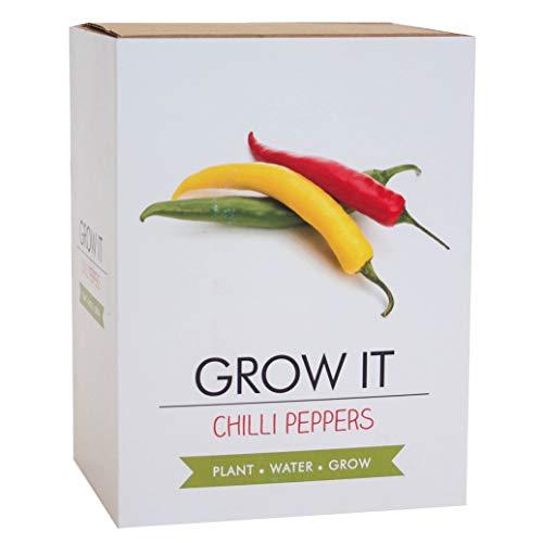 Gift Republic Grow It Kit à offrir avec arbre à piments à faire pousser