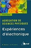 Expériences d'électronique - Agrégation de Sciences Physiques