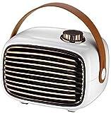 Kibath Calefactor eléctrico Calentador Mini Oficina Dormitorio Escritorio Hogar Calentador Enfriador Calentador rápido de Doble Uso Calentador más Peque?o