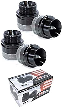 4X 1 Pro Audio Bullet Horn Super Tweeters Black 800W 4 Ohm NX-5