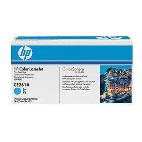 Hewlett Packard HP 648A Color LaserJet CP4025, CP4525serie inteligente cartucho de impresión, cian (11.000páginas), número de pieza CE261A