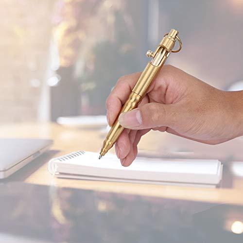 Bolígrafo Clásico De Latón, Para El Trabajo Diario En La Oficina