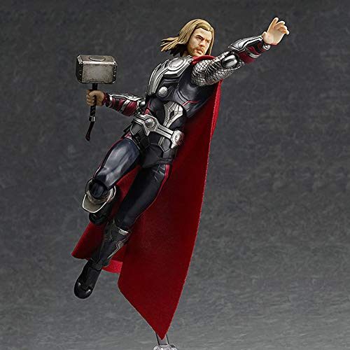 Wild MD Marvel Avengers Thor Figura De Acción Conjunto Muñeca Movible Modelo Decoración