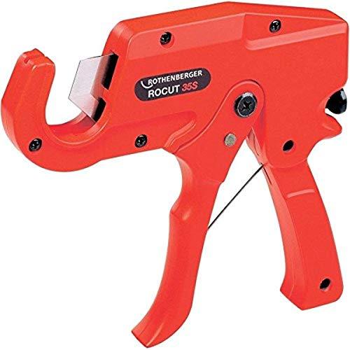 Rothenberger 55015 Kunststoffrohr-Schere 1.5/8 Z, Red
