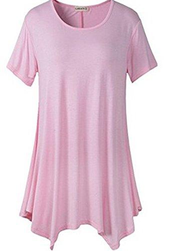YALI - Golf-Kleider für Mädchen in rose, Größe L