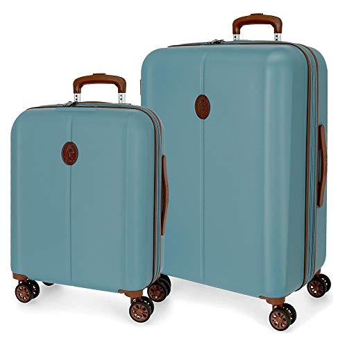 Kofferset El Pesta Ocuri blauw 55-70 cm