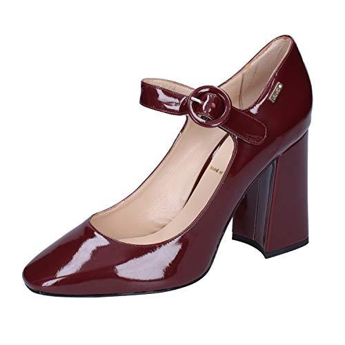 LIU JO Zapatos de salón Mujer Charol borgoña 39 EU