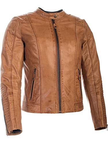 Richa Cognac Lausanne dames motorfiets lederen jas