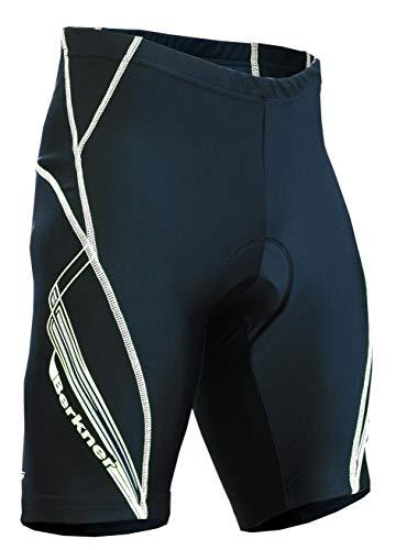 berkner Pantalon de vélo pour homme Model Derek XXXXL noir/bleu