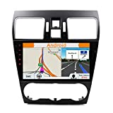 Android 8.1 Car Stereo for Subaru Forester Stereo 2008-2018 Radio GPS Navigation Headunit | 9 Inch Octa Core 1024x600HD | Support Bluetooth Steering Wheel WIFI USB SD 4G | Free Backup Camera |