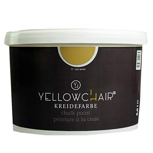 Kreidefarbe yellowchair No.17 ockergelb ÖKO für Wände und Möbel 5 Liter