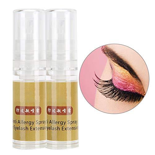 20ml Eyelash Extension Anti‑Allergy Spray Lash Grafting Assist Moisturizing Repairing Spray for Eyelash Artist - 2pcs