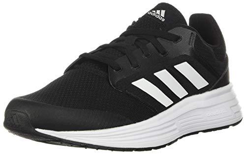 adidas Mens Galaxy 5 Running Shoe, Core Black/Footwear White/Footwear White,43 1/3 EU